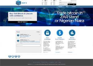 Ice Cubed bitcoin exchange
