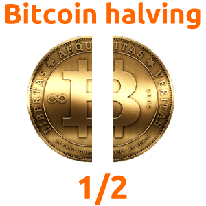 Bitcoin block reward halving date