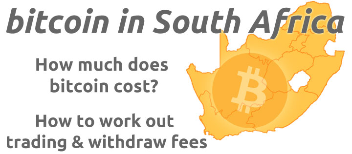 Bitcoin price in South Africa