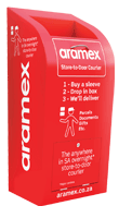 Aramex delivery