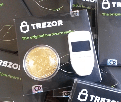 bitcoin trezor and coin